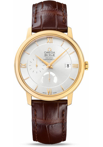 Omega Watches - De Ville Prestige Co-Axial Power Reserve 39.5 mm - Yellow Gold - Style No: 424.53.40.21.02.002