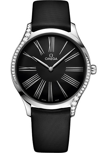 Omega Watches - De Ville Tresor Quartz - 39 mm - Stainless Steel - Style No: 428.17.39.60.01.001