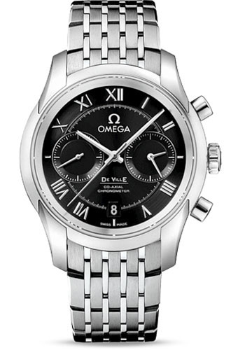 Omega De Ville Co-Axial Chronograph 42 mm - Stainless Steel