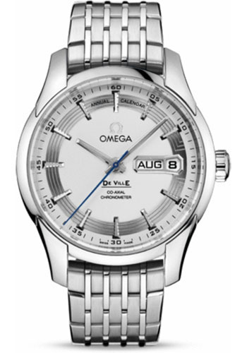 Omega Watches - De Ville Hour Vision Co-Axial Annual Calendar 41 mm - Stainless Steel - Style No: 431.30.41.22.02.001