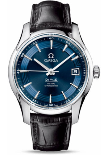 Omega Watches - De Ville Hour Vision Co-Axial 41 mm - Stainless Steel - Style No: 431.33.41.21.03.001