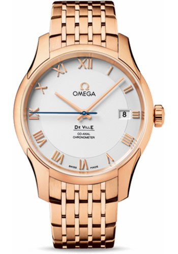 Omega Watches - De Ville Co-Axial Chronometer Red Gold - Style No: 431.50.41.21.02.001
