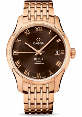 Omega Watches - De Ville Co-Axial Chronometer Red Gold - Style No: 431.50.41.21.13.001
