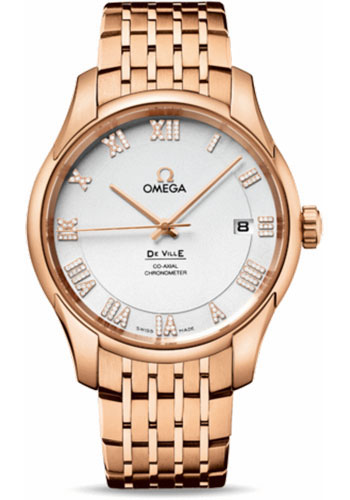 Omega Watches - De Ville Co-Axial Chronometer Red Gold - Style No: 431.50.41.21.52.001