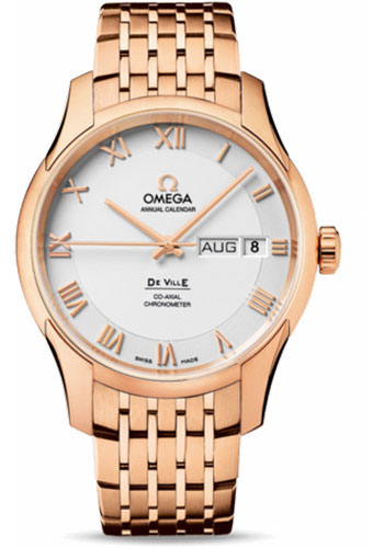 Omega Watches - De Ville Co-Axial Annual Calendar 41 mm - Red Gold - Style No: 431.50.41.22.02.001