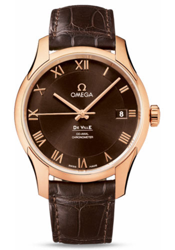 Omega Watches - De Ville Co-Axial Chronometer Red Gold - Style No: 431.53.41.21.13.001