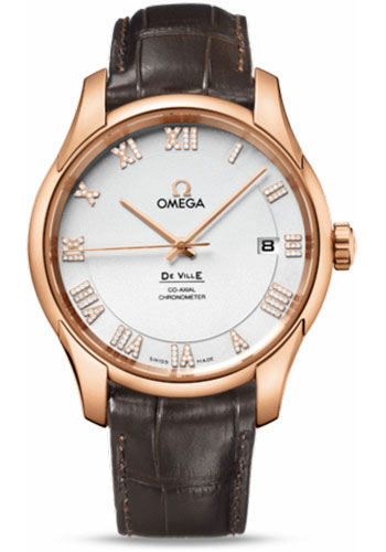 Omega Watches - De Ville Co-Axial Chronometer Red Gold - Style No: 431.53.41.21.52.001