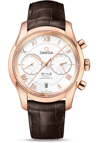 Omega Watches - De Ville Co-Axial Chronograph 42 mm - Red Gold - Style No: 431.53.42.51.02.001