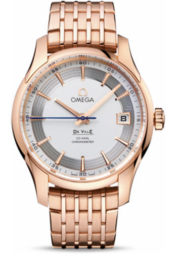Omega Watches - De Ville Hour Vision Co-Axial 41 mm - Red Gold - Style No: 431.60.41.21.02.001