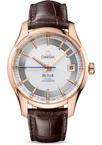 Omega Watches - De Ville Hour Vision Co-Axial 41 mm - Red Gold - Style No: 431.63.41.21.02.001