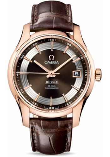 Omega Watches - De Ville Hour Vision Co-Axial 41 mm - Red Gold - Style No: 431.63.41.21.13.001