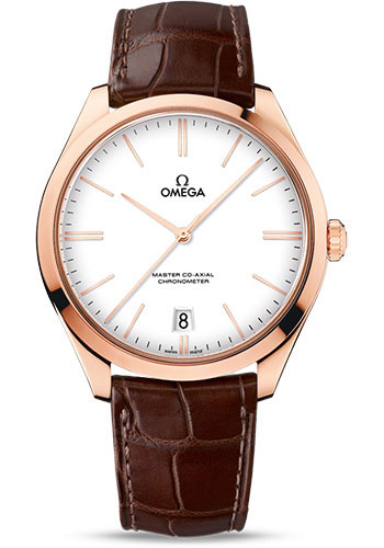 Omega Watches - De Ville Tresor Sedna Gold - Style No: 432.53.40.21.04.001