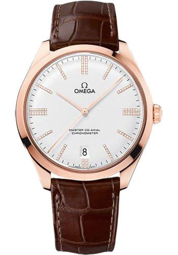 Omega Watches - De Ville Tresor Master Co-Axial - 40 mm - Sedna Gold - Style No: 432.53.40.21.52.002