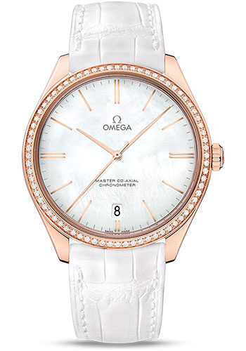 Omega Watches - De Ville Tresor Sedna Gold - Style No: 432.58.40.21.05.001
