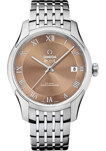 Omega Watches - De Ville Hour Vision Co-Axial 41 mm - Stainless Steel - Style No: 433.10.41.21.10.001