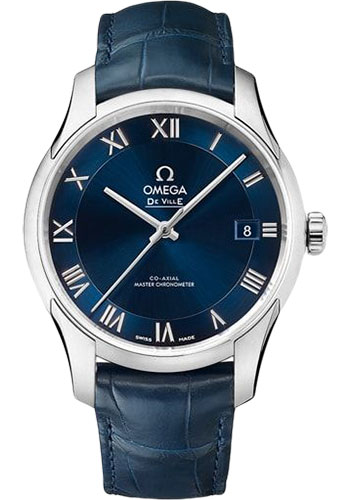 Omega Watches - De Ville Hour Vision Co-Axial 41 mm - Stainless Steel - Style No: 433.13.41.21.03.001