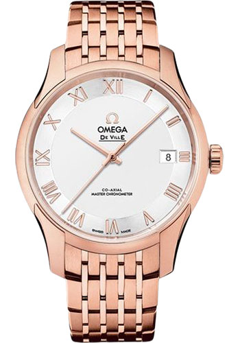 Omega Watches - De Ville Hour Vision Co-Axial 41 mm - Sedna Gold - Style No: 433.50.41.21.02.001