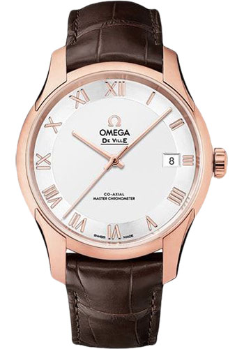 Omega Watches - De Ville Hour Vision Co-Axial 41 mm - Sedna Gold - Style No: 433.53.41.21.02.001
