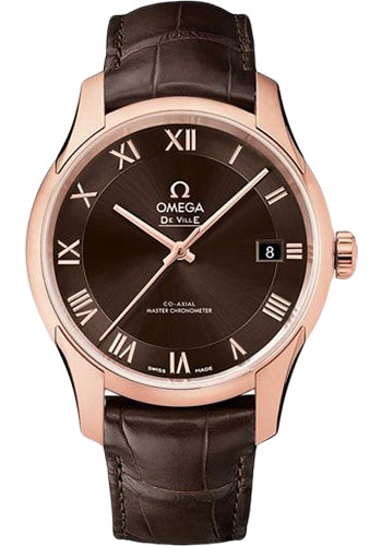 Omega Watches - De Ville Hour Vision Co-Axial 41 mm - Sedna Gold - Style No: 433.53.41.21.13.001