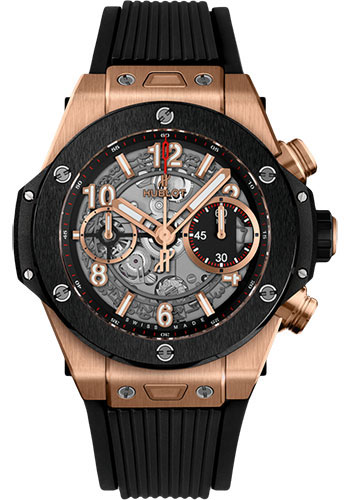 Hublot Watches - Big Bang 42mm Unico King Gold Ceramic - Style No: 441.OM.1180.RX