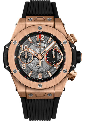 Hublot Watches - Big Bang 42mm Unico King Gold - Style No: 441.OX.1180.RX