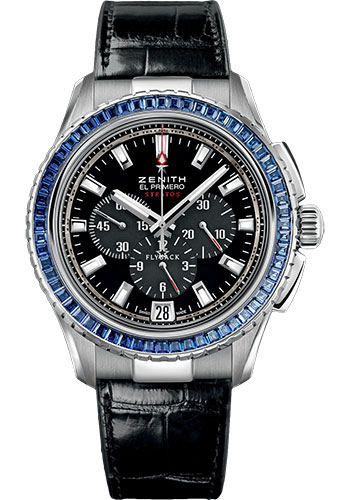 Zenith Watches - El Primero Stratos Flyback White Gold - Style No: 45.2062.405/21.C714