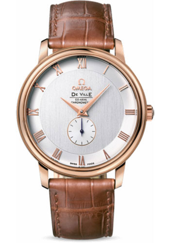 Omega Watches - De Ville Prestige Co-Axial Small Seconds 39 mm - Red Gold - Style No: 4614.30.02