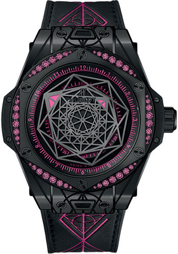Hublot Watches - Big Bang 39mm Sang Bleu - All Black - Style No: 465.CS.1119.VR.1233.MXM18