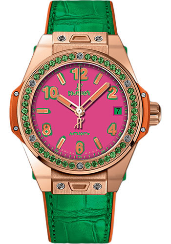Hublot Watches - Big Bang 39mm Pop Art - Style No: 465.OG.7398.LR.1222.POP16