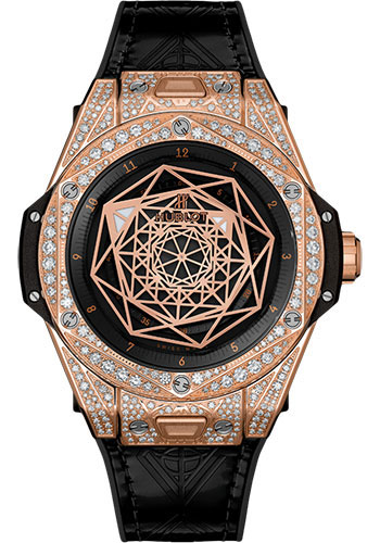 Hublot Watches - Big Bang 39mm Sang Bleu - King Gold - Style No: 465.OS.1118.VR.1704.MXM18
