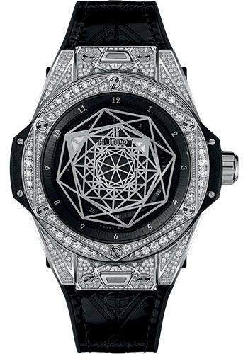 Hublot Watches - Big Bang 39mm Sang Bleu - Steel - Style No: 465.SS.1117.VR.1704.MXM18