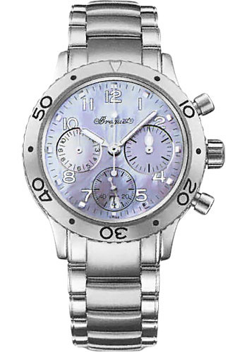 Breguet Watches - Type XX Transatlantique Fly-Back Chronograph 33.5mm - Steel - Style No: 4820ST/59/S76