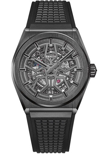 Zenith Watches - Defy Classic Black Ceramic - Style No: 49.9000.670/77.R782