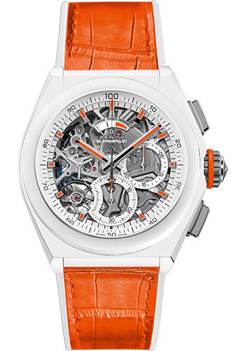 Zenith Watches - Defy El Primero 21 Swizz Beatz White Ceramic - Style No: 49.9003.9004/76.R591