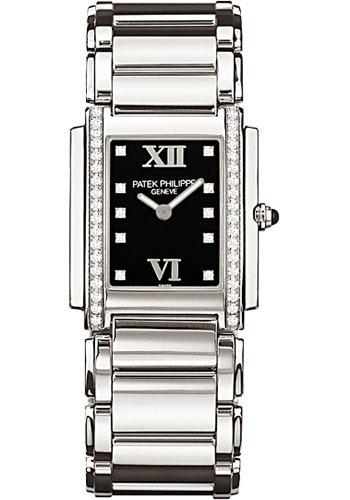Patek Philippe Watches - Twenty-4 Medium Stainless Steel - Style No: 4910/10A-001