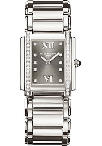 Patek Philippe Watches - Twenty-4 Medium Stainless Steel - Style No: 4910/10A-010