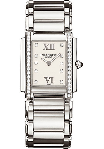 Patek Philippe Watches - Twenty-4 Medium Stainless Steel - Style No: 4910/10A-011
