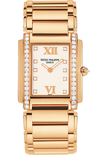 Patek Philippe Watches - Twenty-4 Medium Rose Gold - Style No: 4910/11R-011