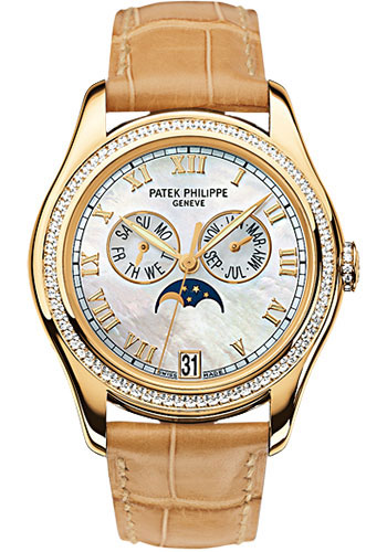Patek philippe complications ladies annual calendar watches for Patek philippe women