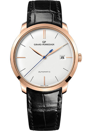 Girard-Perregaux Watches - 1966 38 mm - Pink Gold - Style No: 49525-52-131-BK6A