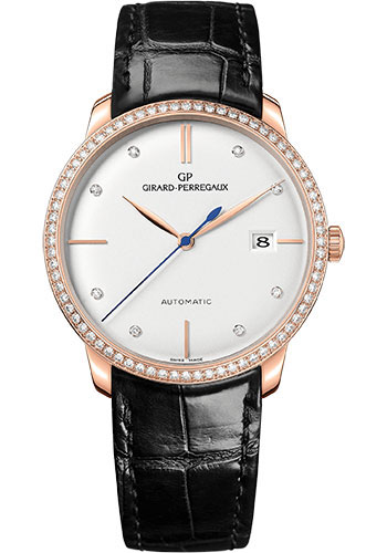Girard-Perregaux Watches - 1966 38 mm - Pink Gold - Style No: 49525D52A1A1-BK6A