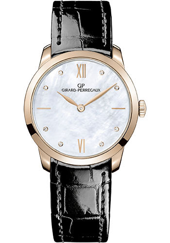 Girard-Perregaux Watches - 1966 30 mm - Pink Gold - Style No: 49528-52-771-CK6A
