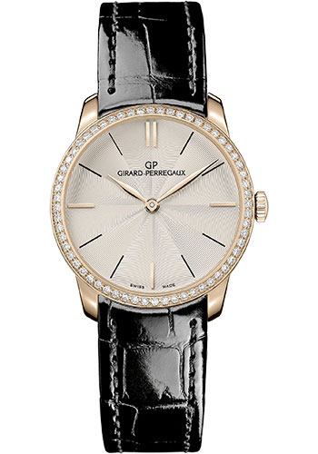 Girard-Perregaux Watches - 1966 30 mm - Pink Gold - Style No: 49528D52A131-CB6A
