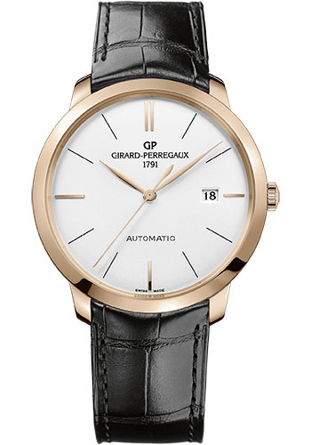 Girard-Perregaux Watches - 1966 40 mm - Pink Gold - Style No: 49555-52-132-BB60