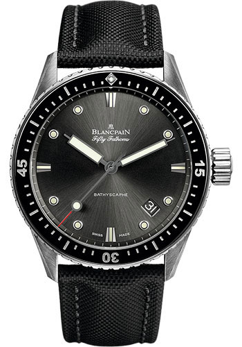 Blancpain Watches - Fifty Fathoms Bathyscaphe - Stainless Steel - Style No: 5000-1110-B52 A
