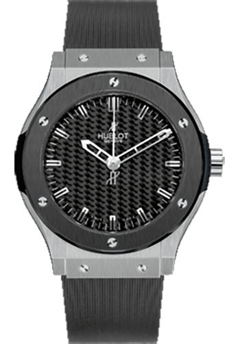 Hublot Watches - Classic Fusion 45mm Zirconium and Ceramic - Style No: 501.ZM.1670.RX