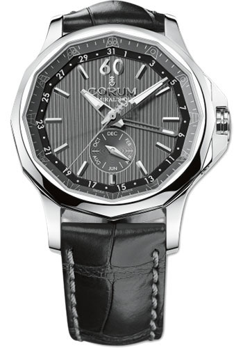 Corum Watches - Admiral's Cup Legend 42 Annual Calendar - Stainless Steel - Style No: 503.101.20/0F01 AK10