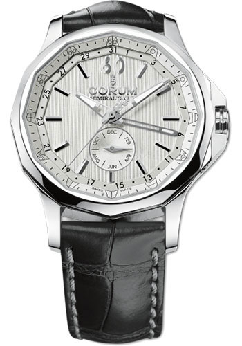 Corum Watches - Admiral Legend 42 mm - Annual Calendar - Stainless Steel - Style No: A503/01234 - 503.101.20/0F01 FH10