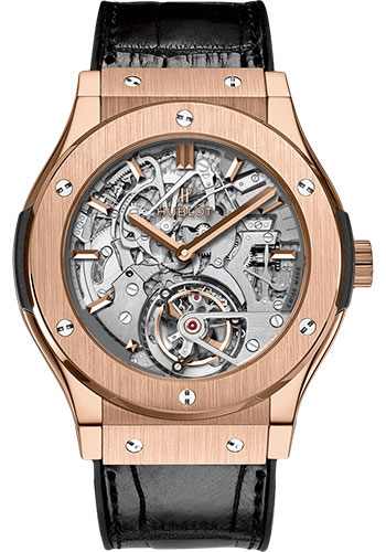 Hublot Watches - Classic Fusion 45mm Tourbillon Cathedral Minute Repeater - Style No: 504.OX.0180.LR