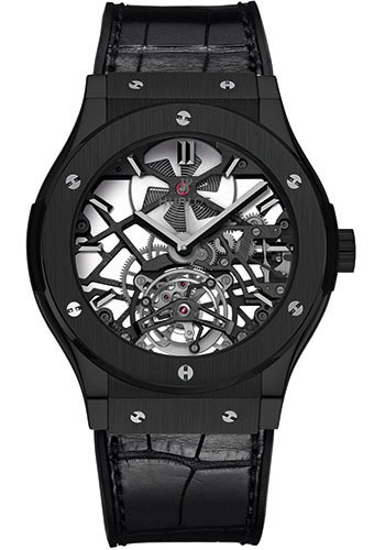 Hublot Watches - Classic Fusion 45mm Skeleton Tourbillon - Style No: 505.CM.0140.LR